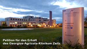 Für den Erhalt des Georgius-Agricola-Klinikum Zeitz