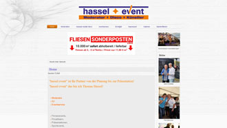 Homepage von Hassel Event in Elsteraue / OT Bornitz