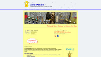 Homepage von Inka Pokale in Berlin